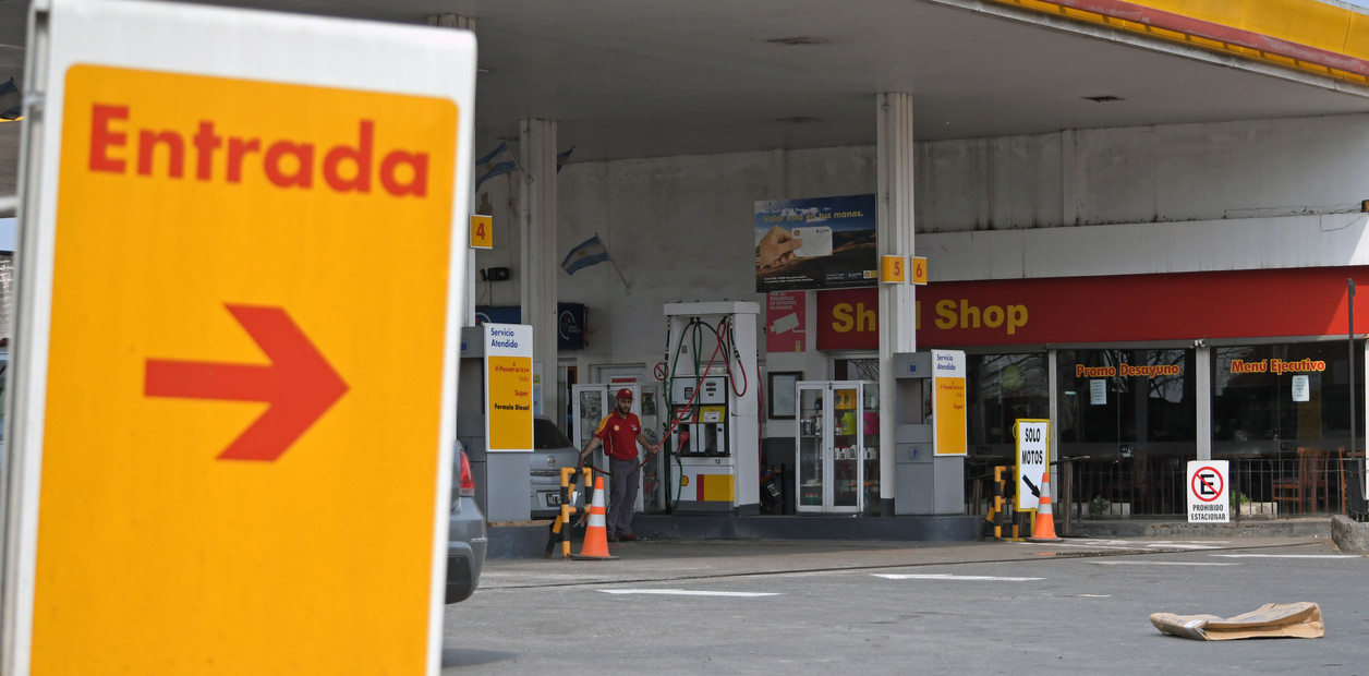 Aumento Shell el combustible
