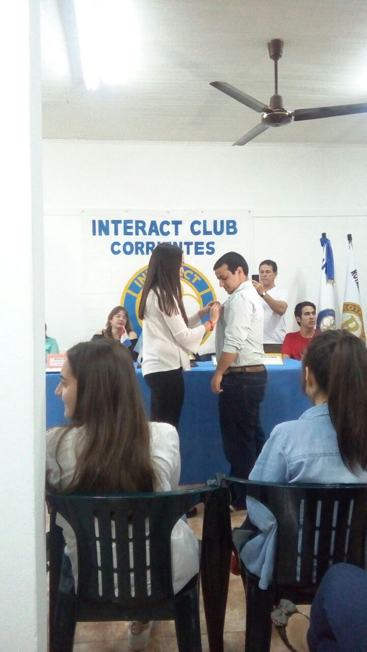 Cambio de autoridades en el Interact Club Corrientes